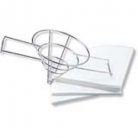 Chef Inox Stainless Steel Filter Rack/Frame