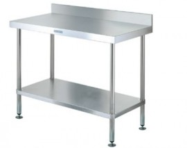 Simply Stainless SS02.7.1800 Workbench with Splashback