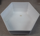 MTA Hexagonal Bowl - 220x100 - White