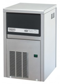 Brema CB184A Ice Cube Maker, 21kg/day, 4kg storage
