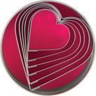 Cutter Set S/S Heart