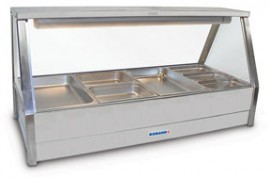 Roband E26 Straight Glass Hot Foodbar - Floor Stock Special