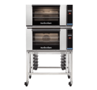 Turbofan E27T3/2C - Ovens  Double Stacked Stainless Steel Base Stand