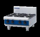 Blue Seal G514C-B 2 Burner, 300 Griddle Plate Gas Cooktop - Benchtop Model