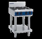 Blue Seal G514D-LS 4 Burner Gas Cooktop - Leg Stand