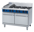 Blue Seal Evolution Series G528C - 1200mm Gas Range Double Static Oven