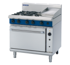 Blue Seal Evolution Series G56C - 900mm Gas Range Convection Oven