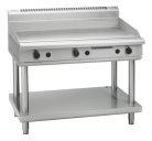 Waldorf 800 Series GPL8120G-LS - 1200mm Gas Griddle Low Back Version Leg Stand
