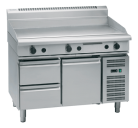 Waldorf 800 Series GP8120G-RB - 1200mm Gas Griddle Refrigerated Base