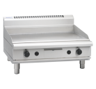 Waldorf 800 Series GPL8900G-B - 900mm Gas Griddle Low Back Version Bench Model