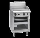 Waldorf 800 Series GTL8600G - 600mm Gas Griddle Toaster Low Back Version