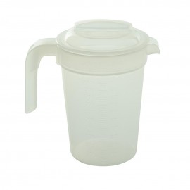 Traditional Graduated Jug Clear with Lid