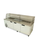 Williams HJ3SCBA Jade Refrigerated Sandwich Preparation Counter