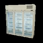 Williams HPS3GDCB Pearl Star Three Glass Door Refrigerator