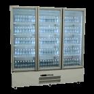 Williams HQS3GDCB Quartz Star Three Glass Door Upright Display Refrigerator