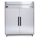 Williams LS2SDSS Two Solid Door Sapphire Stainless Steel Upright Freezer