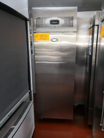 Used Foster Single Solid Door Stainless Steel Refrigerator