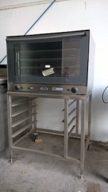 Used Unox XF090P Convection Oven on Stand