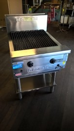 Reconditioned Goldstein RBA24 Char Grill on SB24RB Stand