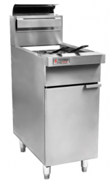 Trueheat RCF4-NG - 400mm Open Pot Deep Fryer LP Gas