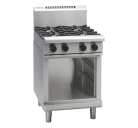 Waldorf 800 Series RNL8406G-CB - 600mm Gas Cooktop Low Back Version Cabinet Base