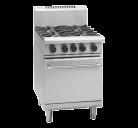 Waldorf 800 Series RNL8410G - 600mm Gas Range Static Oven Low Back Version