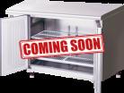 Hoshizaki FTC-120SNA-ML Two Door Pillarless Stainless Steel Counter Freezer - 228L
