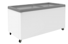 Exquisite SD650 566L Flat Glass Display Chest Freezer