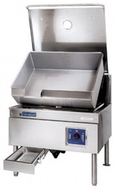 SEL30TR Floor mounted tilting bratt pans