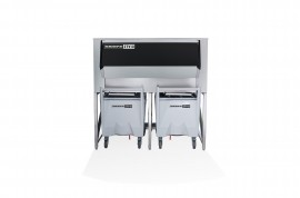 Skope SCD400 Silo Ice Cube Storage Bin & Transport System (2x 112kg carts included, totes an optional extra)