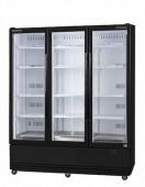 Skope SKB1500N-A 3 Glass Door Display or Storage Fridge - Stainless Steel