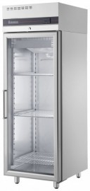 Inomak UFI2170G Single Door Upright Freezer, Glass Door