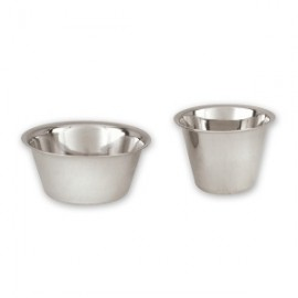 Stainless Steel Sauce Cup - 60ml 55mm diameter