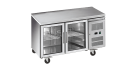 Exquisite USC260G Underbench Refrigerator, Glass Door