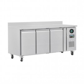 Polar DL917-A 3 Counter Door Freezer with Upstand 417Ltr