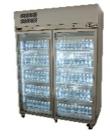 Williams HDS2GDSS Diamond Star Two Glass Door Stainless Steel Refrigerator