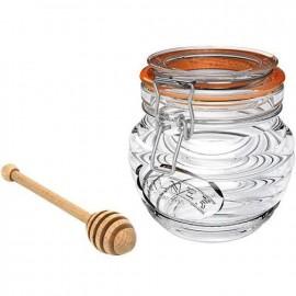 Kilner Honey Pot with Beechwood Drizzler