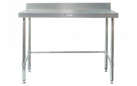 Simply Stainless SS02.1200LB Work Bench with Splashback