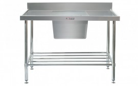 Simply Stainless SS05.1500.C Sink Bench with Splashback