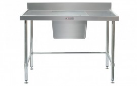 Simply Stainless SS05.1500.C.LB Sink Bench with Splashback