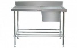 Simply Stainless SS05.1500.R Sink Bench with Splashback