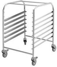 Simply Stainless SS16.1/1.LH Gastronorm Trolley - Low Height
