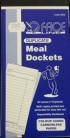 Duplicate Docket Book  - 50 Leaves