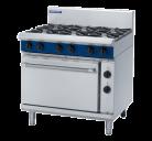 Blue Seal Evolution Series GE506D - 900mm Gas Range Electric Static Oven