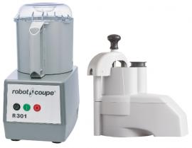 Robot Coupe R301 - R301D Food Processor 3.7 Litre Composite Bowl includes 4 discs